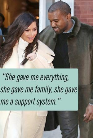 Kim Kardashian, Kanye West, Quotes