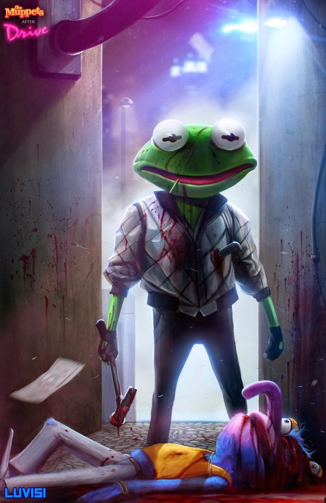 Kermit, Drive, Dan Luvisi Art