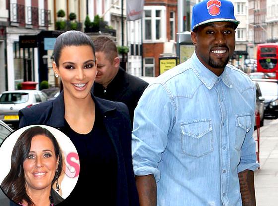 Kim Kardashian, Kanye West, Patti Stanger
