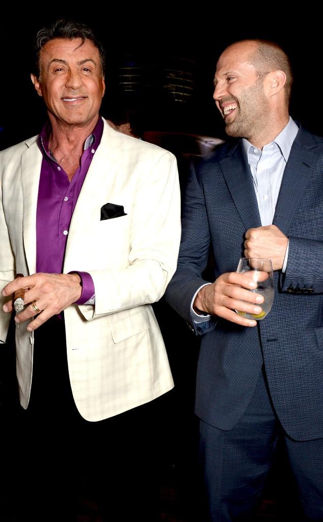 Sylvester Stallone, Jason Statham, Cannes