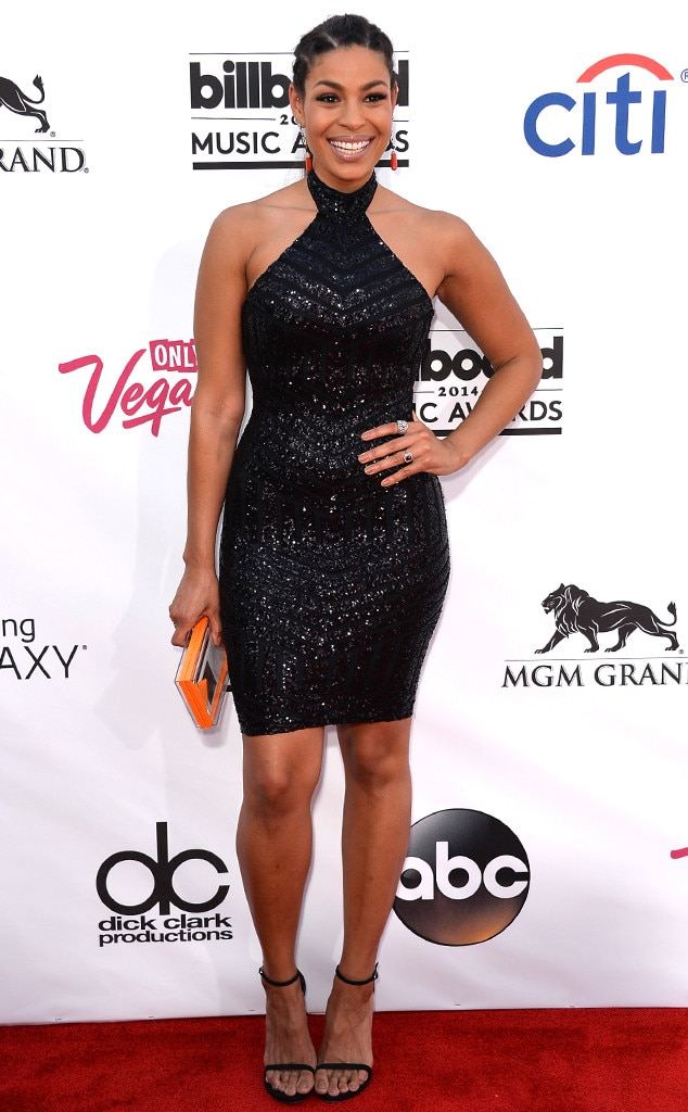 Jordin Sparks -  The pop star rocked a gorgeous LBD at the award show.