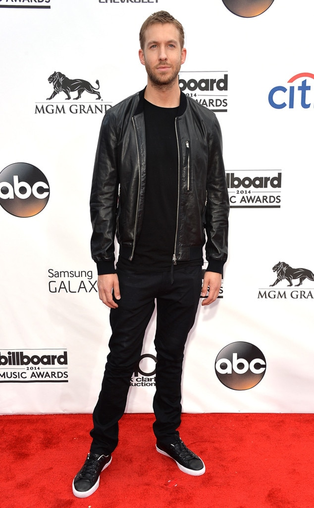 Calvin Harris -  The DJ looked ready to rock at the 2014 Billboard Music Awards.