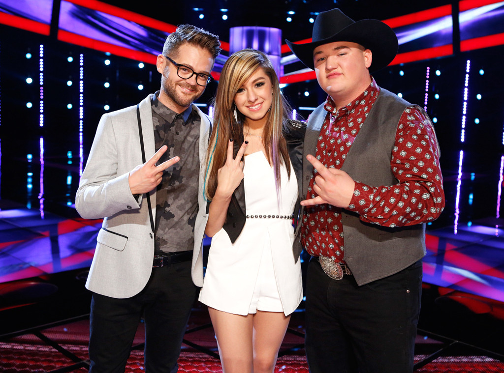 The Voice, Josh Kaufman, Christina Grimmie, Jake Worthington