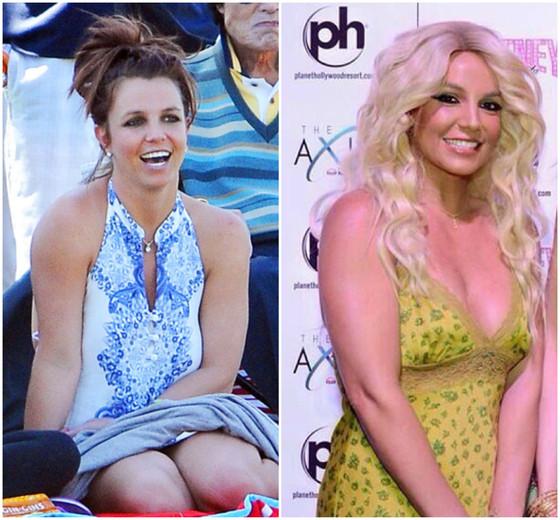 Britney Spears antes e depois