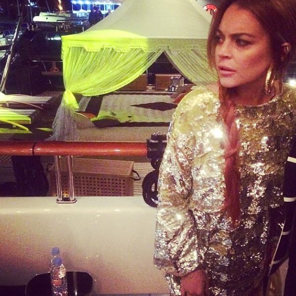 Lindsay Lohan Living I...
