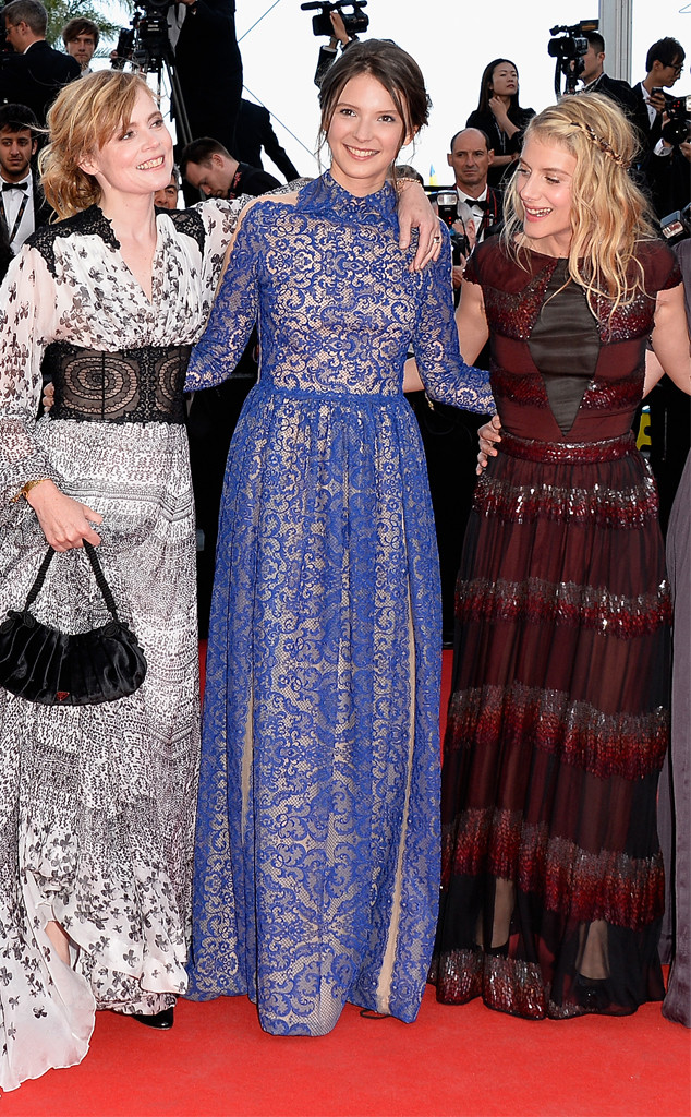 Isabelle Carre, Josephine Japy, Melanie Laurent, Cannes