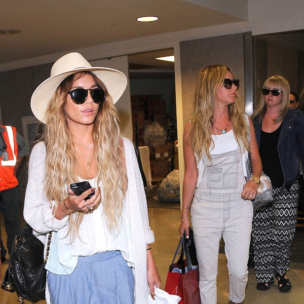 Ashley Tisdale & Vanessa Hudgens From The Big Picture: Today's Hot Photos