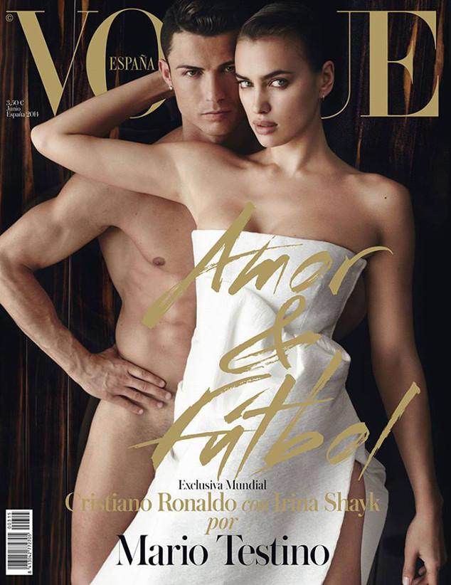 Irina Shayk, Cristiano Ronaldo, Vogue