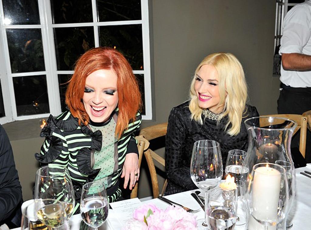 Shirley Manson, Gwen Stefani
