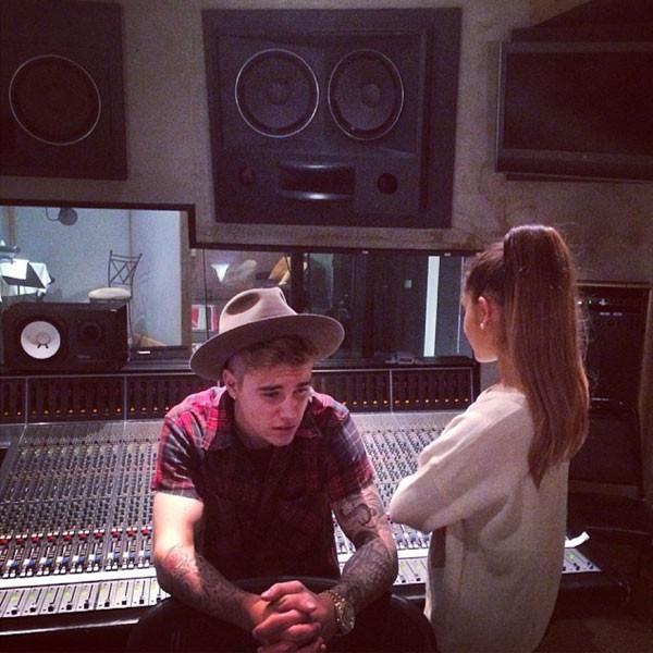 Justin Bieber, Ariana Grande Instagram