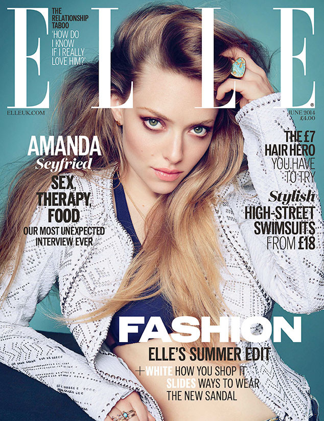 Amanda Seyfried, Elle UK Magazine