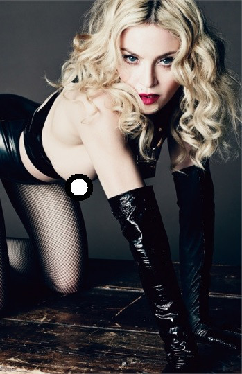 Madonna, L'Uomo Vogue