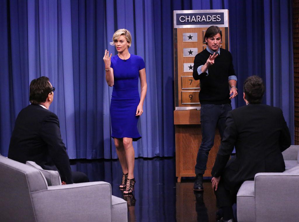 Charlize Theron, Josh Hartnett, Tonight Show