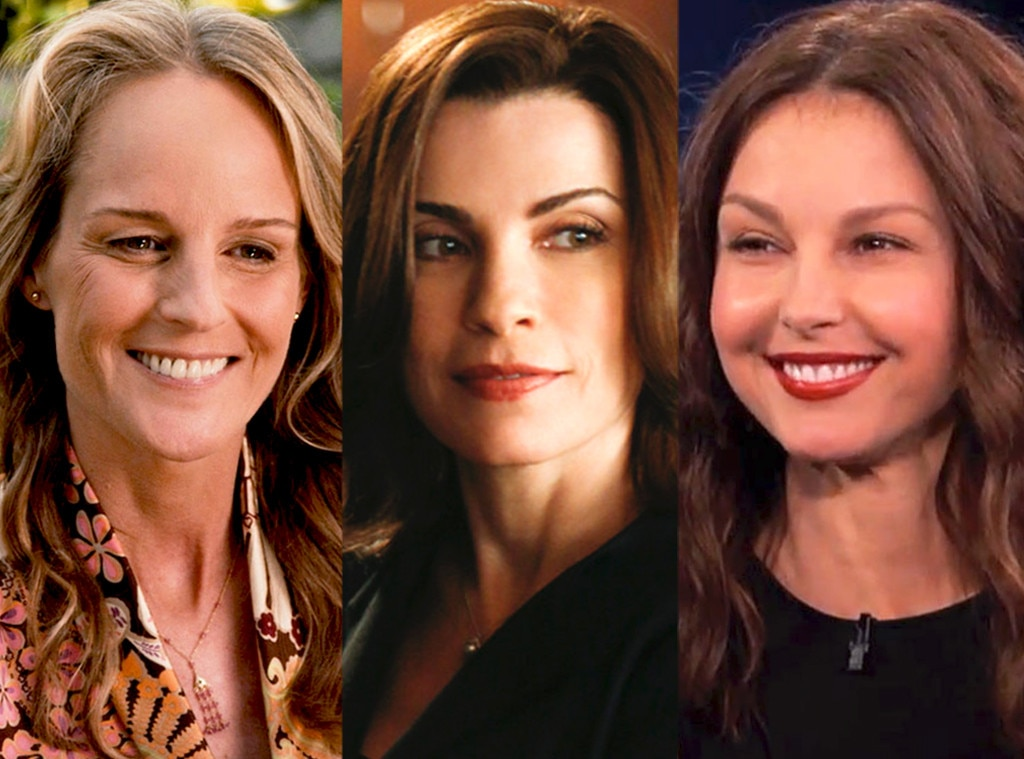 Helen Hunt, Ashley Judd as Alicia on  The Good Wife  -  Everybody knows  The Good Wife  is Julianna Margulies' show, but that almost wasn't the case. The Emmy winner revealed the studio wanted Ashley Judd and Helen Hunt before she got the gig.