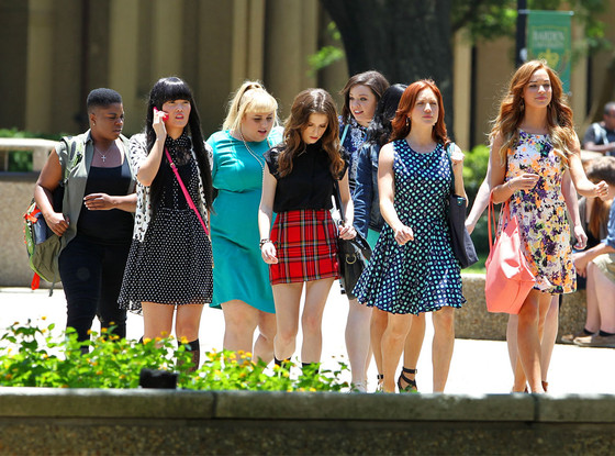 Pitch Perfect Cast, Rebel Wilson, Anna Kendrick, Brittany Snow, Kelley Jakle, Shelley Regner, Hannah Mae Lee, Hailee Steinfeld