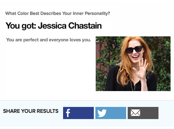 E! Loves Jessica Chastain