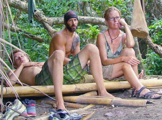 "Survivor, Spencer Bledsoe, Tony Vlachos and Kassandra ""Kass"" McQuillen"