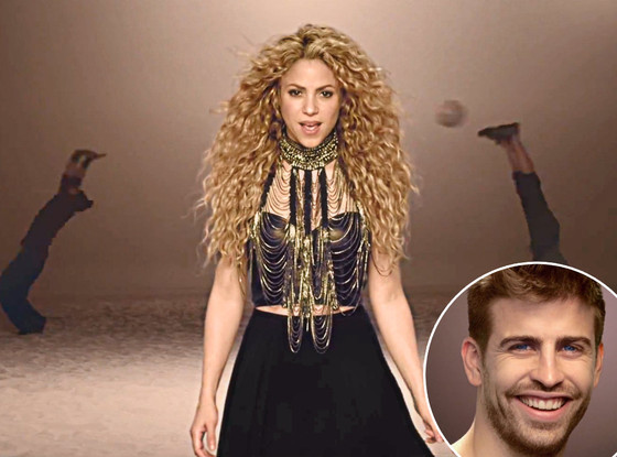 Shakira, Gerard Piqué, La La La Music Video