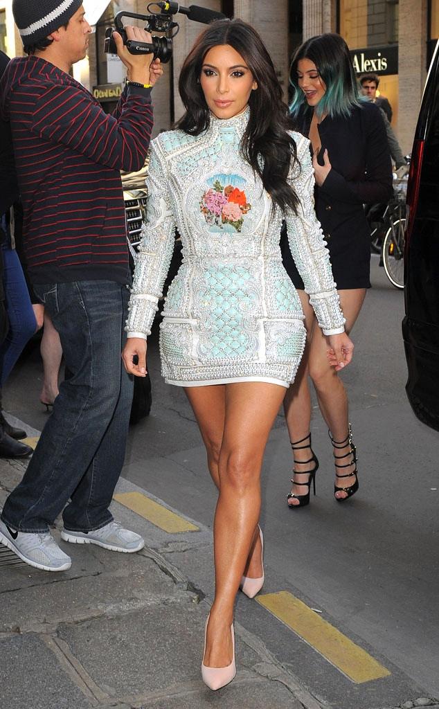 Kylie Jenner, Kim Kardashian, 2014