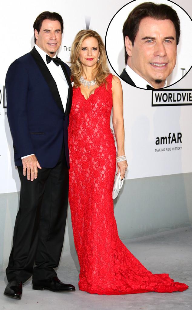 John Travolta, Kelly Preston, Cannes