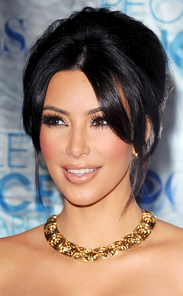 Kim Kardashian, Wedding Hair