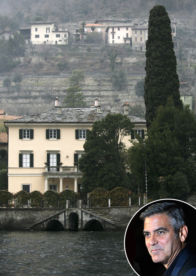 George Clooney's Lake Como house