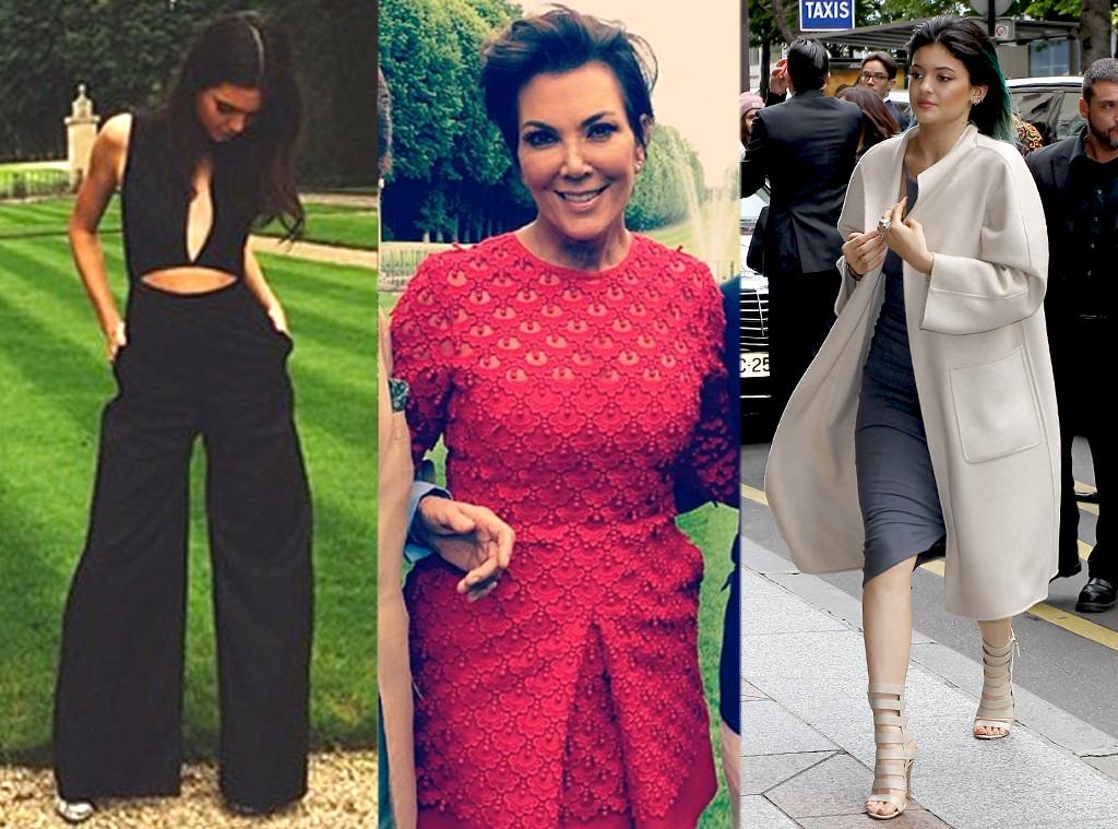 Kendall Jenner, Kris Jenner, Kylie Jenner