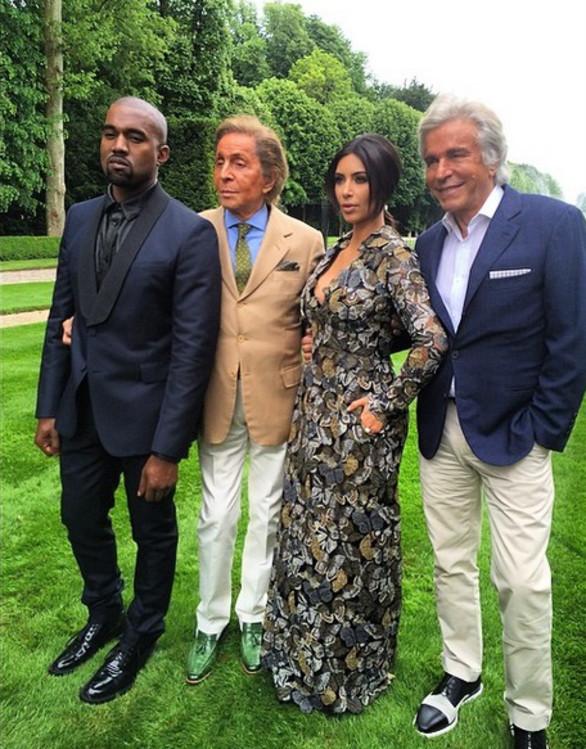 Casamento Kim e Kanye: brunch no château de Valentino