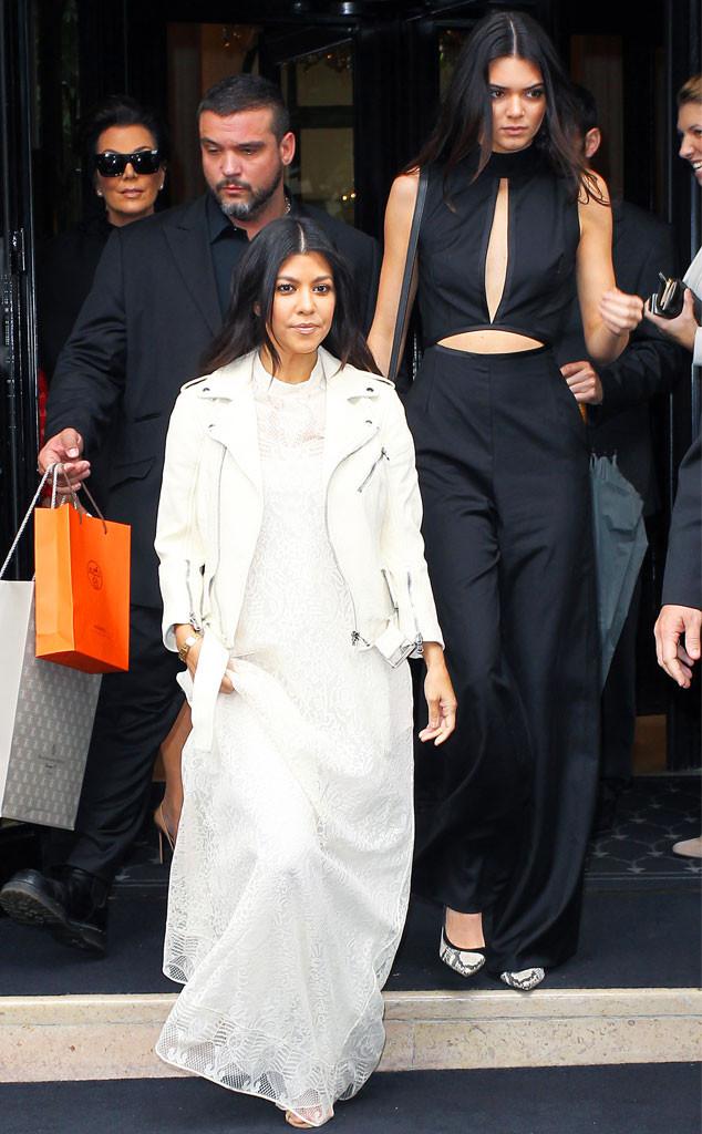 Kourtney Kardashian, Kendall Jenner