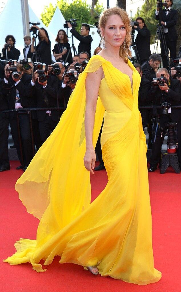 Uma Thurman, Cannes