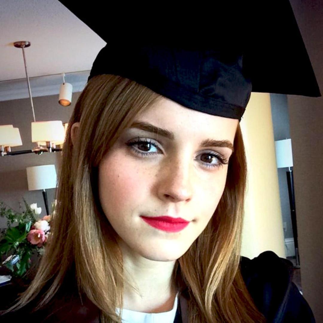 Emma Watson Graduates From Brown University E Online
