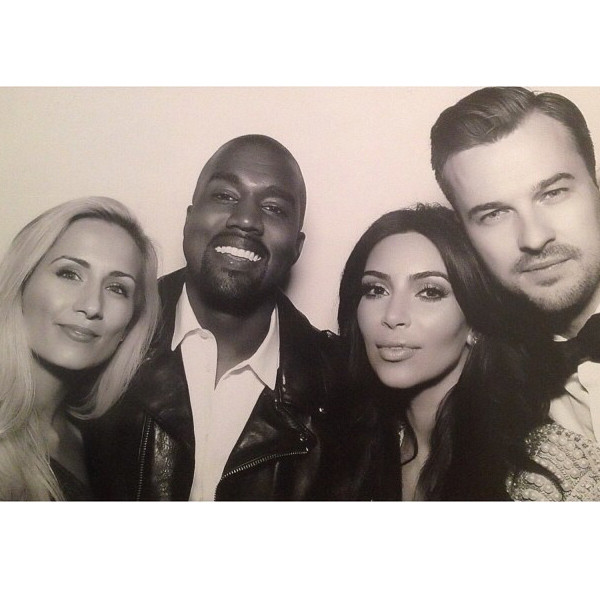 Kim Kardashian, Kanye West, Kimye Wedding Instagram