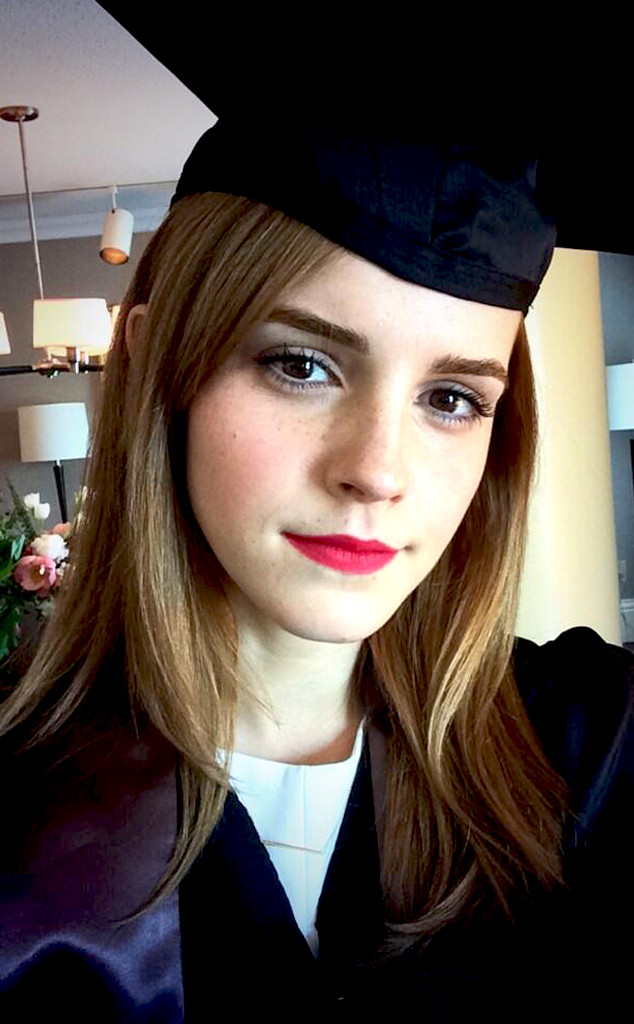Emma Watson Graduates From Brown University—See the Star