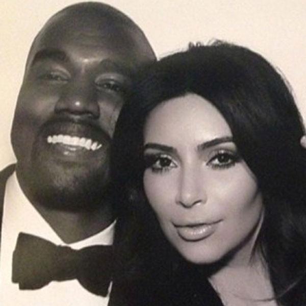 Kimye Wedding, Instagram, Kim Kardashian, Kanye West