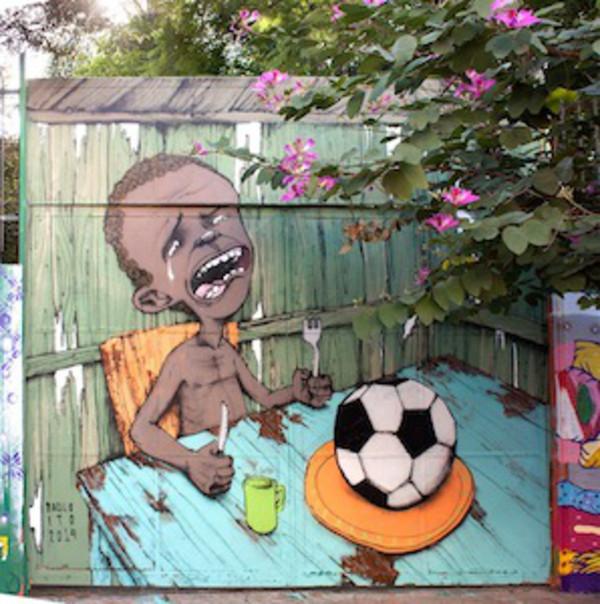grafiti, copa del mundo