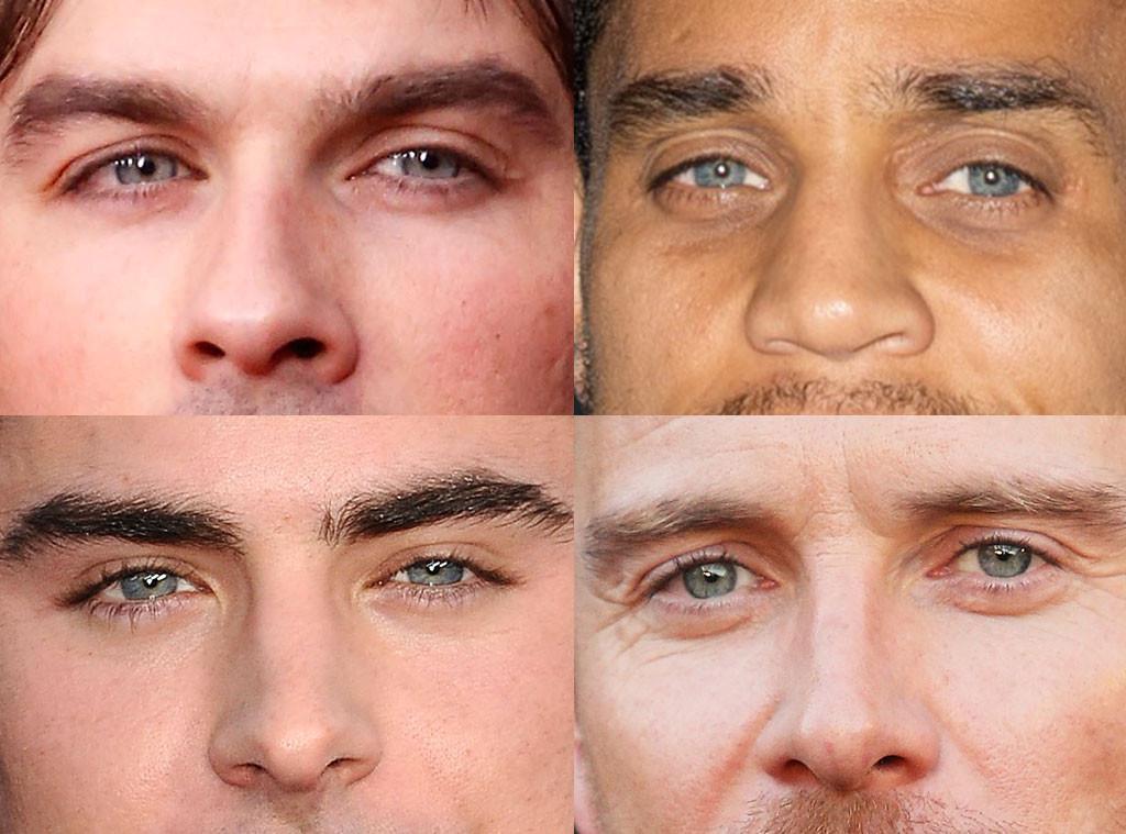 Best Eyes, Michael Ealy, Ian Somerhalder, Zac Efron, Michael Fassbender