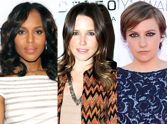 Lena Dunham, Sophia Bush, Kerry Washington