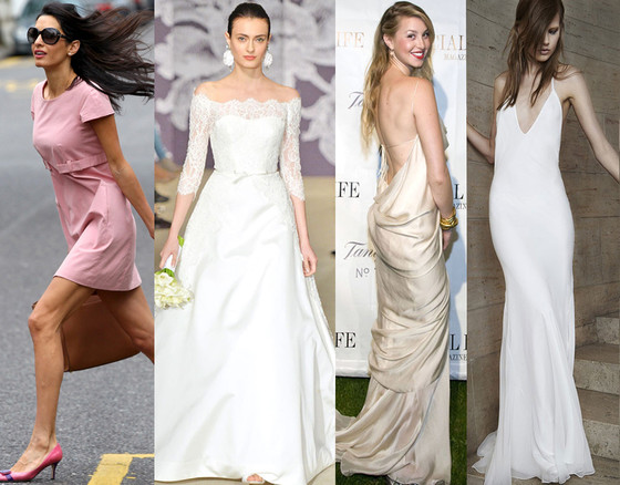 Celeb Wedding Gown Predictions, Amal Alamuddin, Whitney Port
