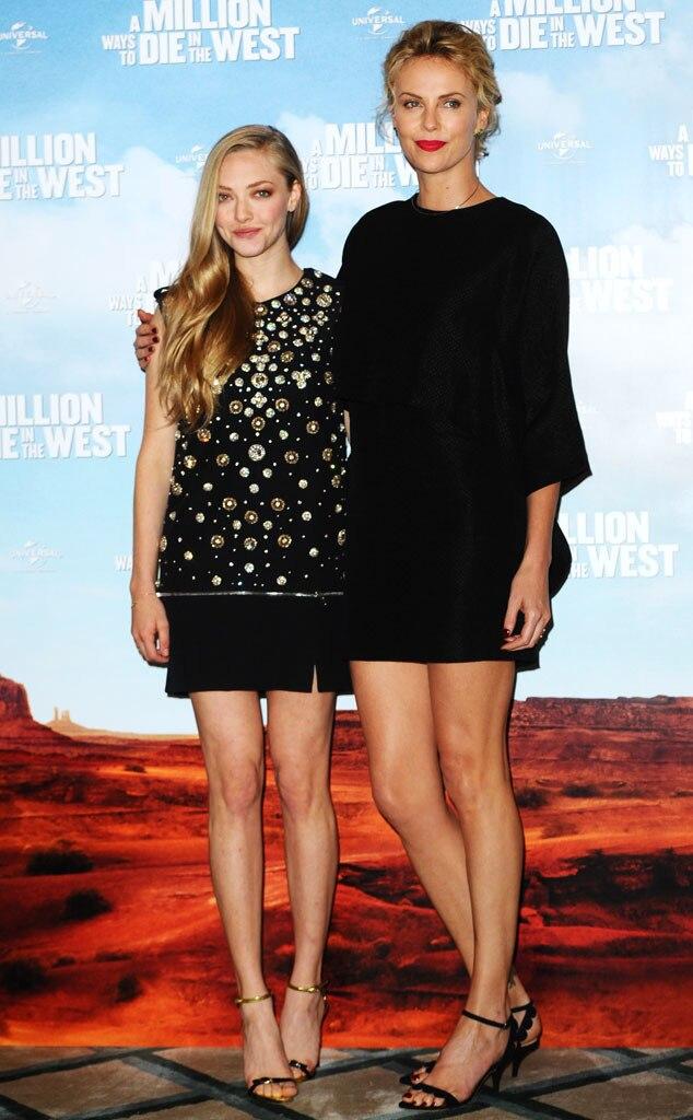 Amanda Seyfried, Charlize Theron