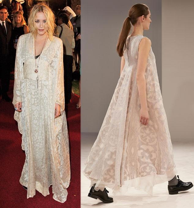 Celeb Wedding Gown Predictions, Mary-Kate Olsen