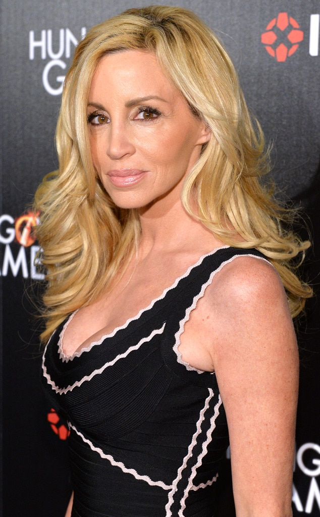 Camille Grammer -  The former  Real Housewives of Beverly Hills  star celebrated one year of being cancer-free in January. The mother of two was diagnosed with endometrial cancer back in 2013 and underwent a radical hysterectomy.