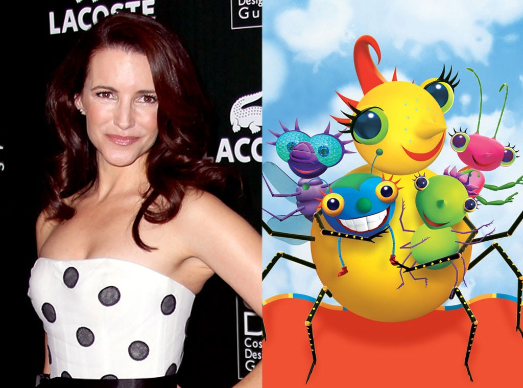 Celeb Voices, Kristin Davis, Miss Spider and the Sunnypatch Kids