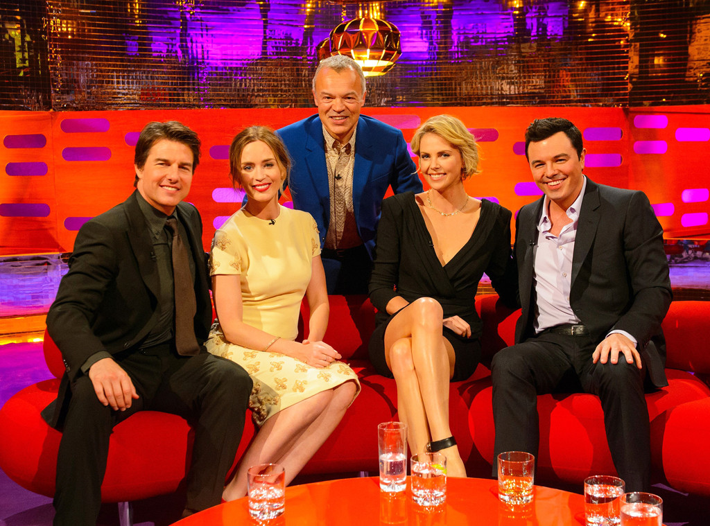 Graham Norton, Tom Cruise, Emily Blunt, Charlize Theron, Seth MacFarlane