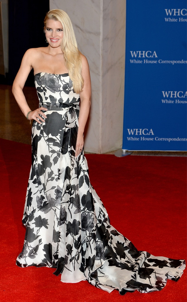 Jessica Simpson, White House Correspondents Dinner