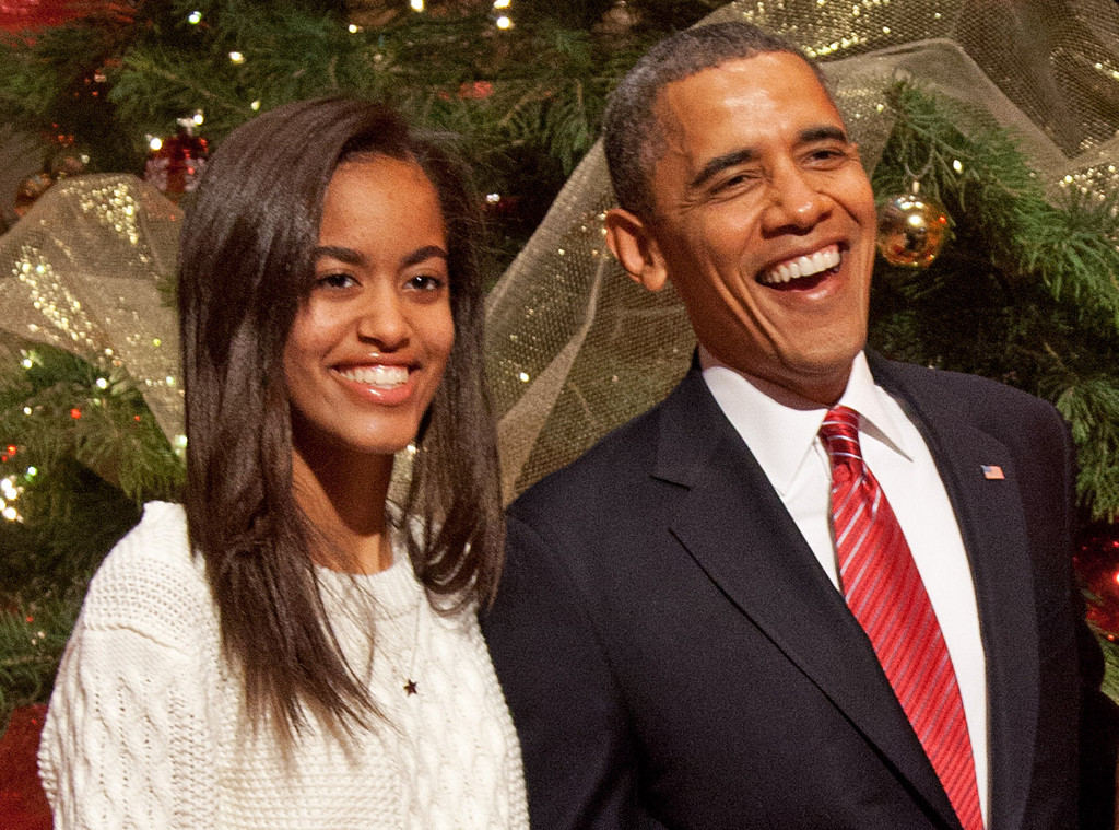 Malia Obama, Barack Obama
