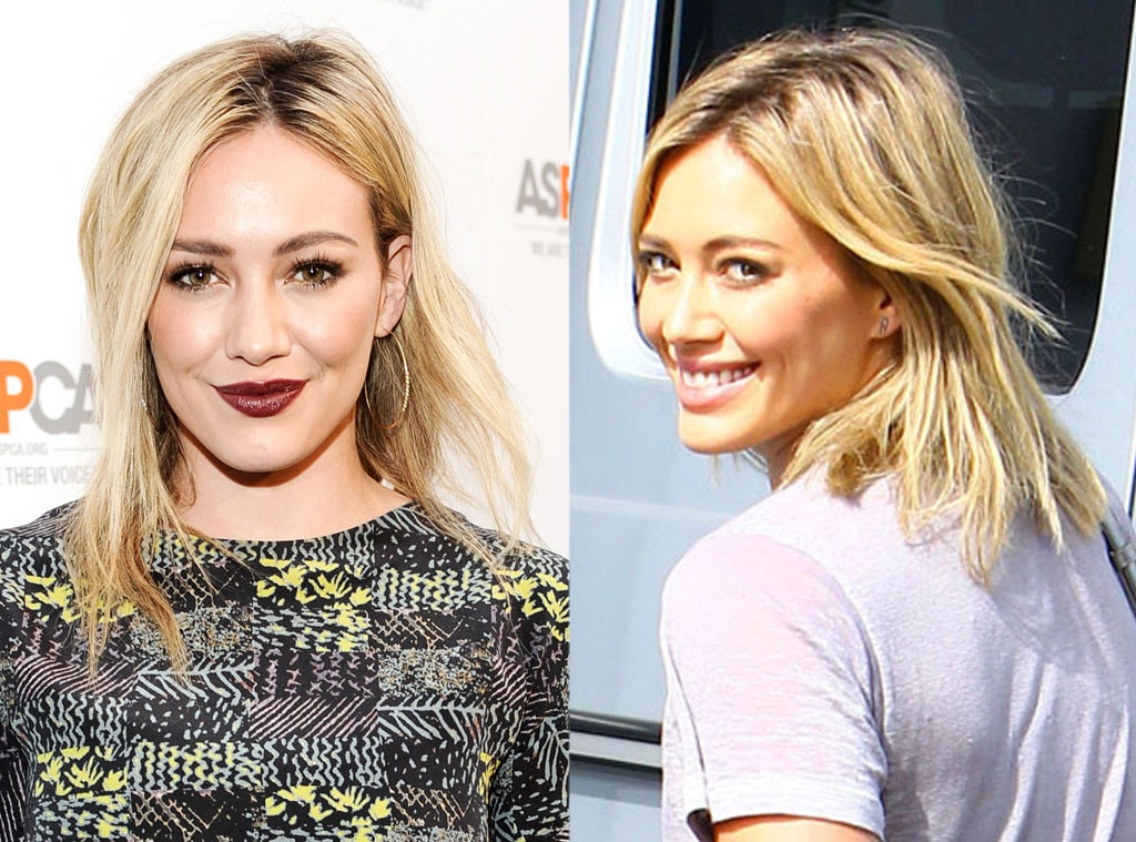 Hilary Duff, Hair