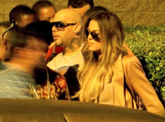 Khloe Kardashian, French Montana
