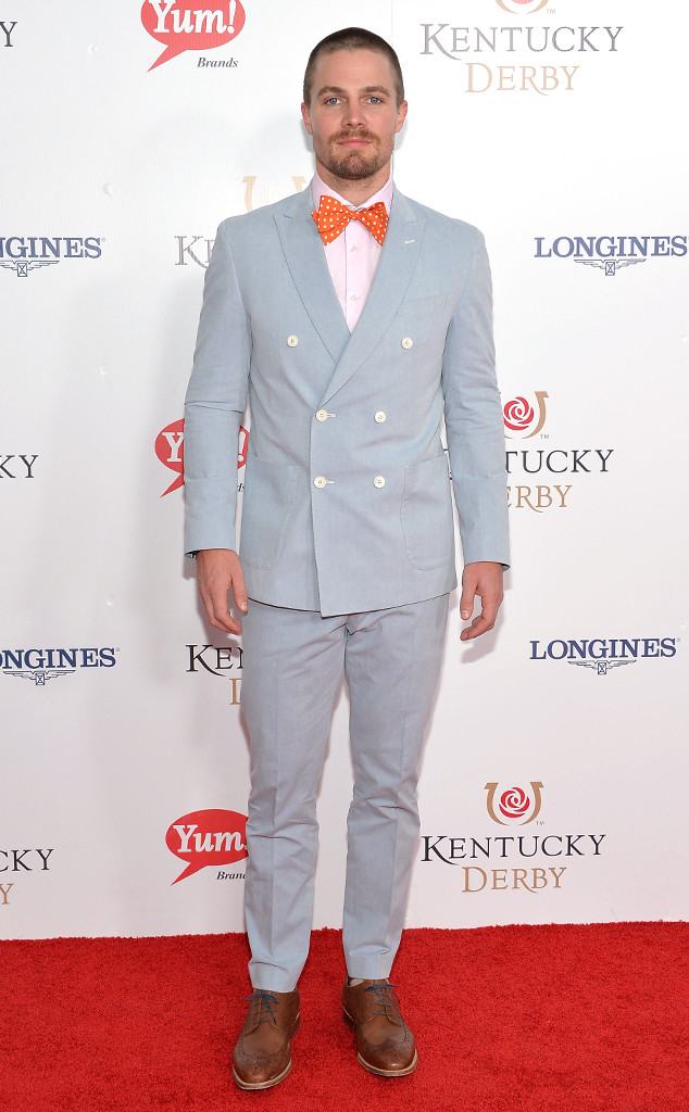 Stephen Amell, Kentucky Derby
