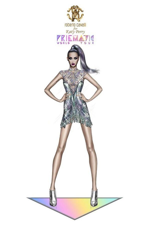 Katy Perry, Katy Perry figurino Prismatic World Tour, Katy Perry figurino turnê, Katy Perry figurino turnê Prism