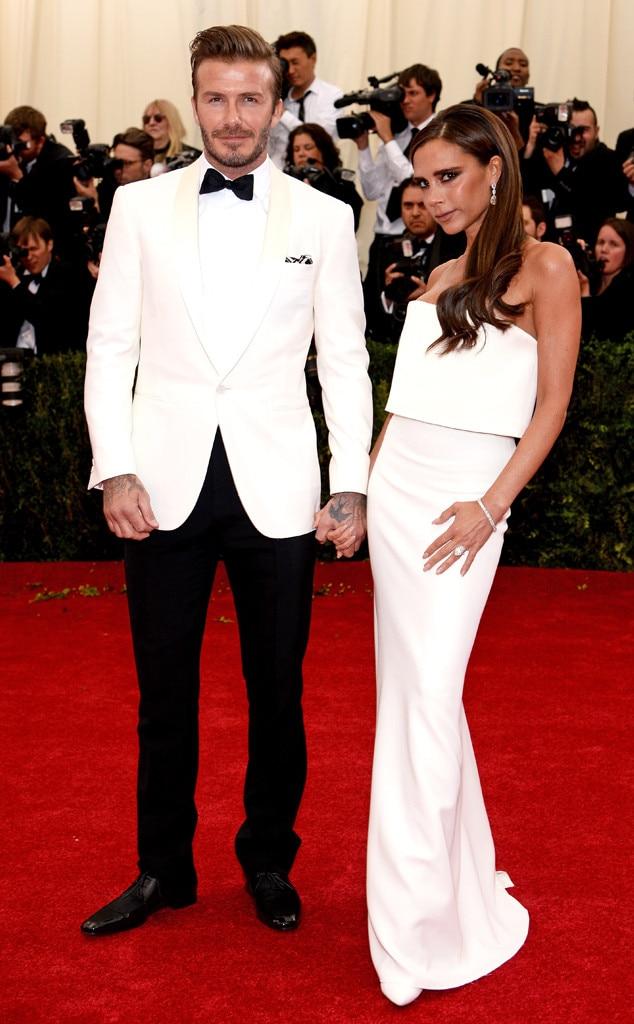 David Beckham, Victoria Beckham, MET Gala